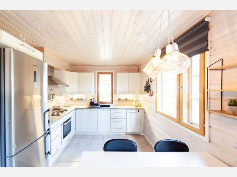 Vill Lapintiira Kitchen