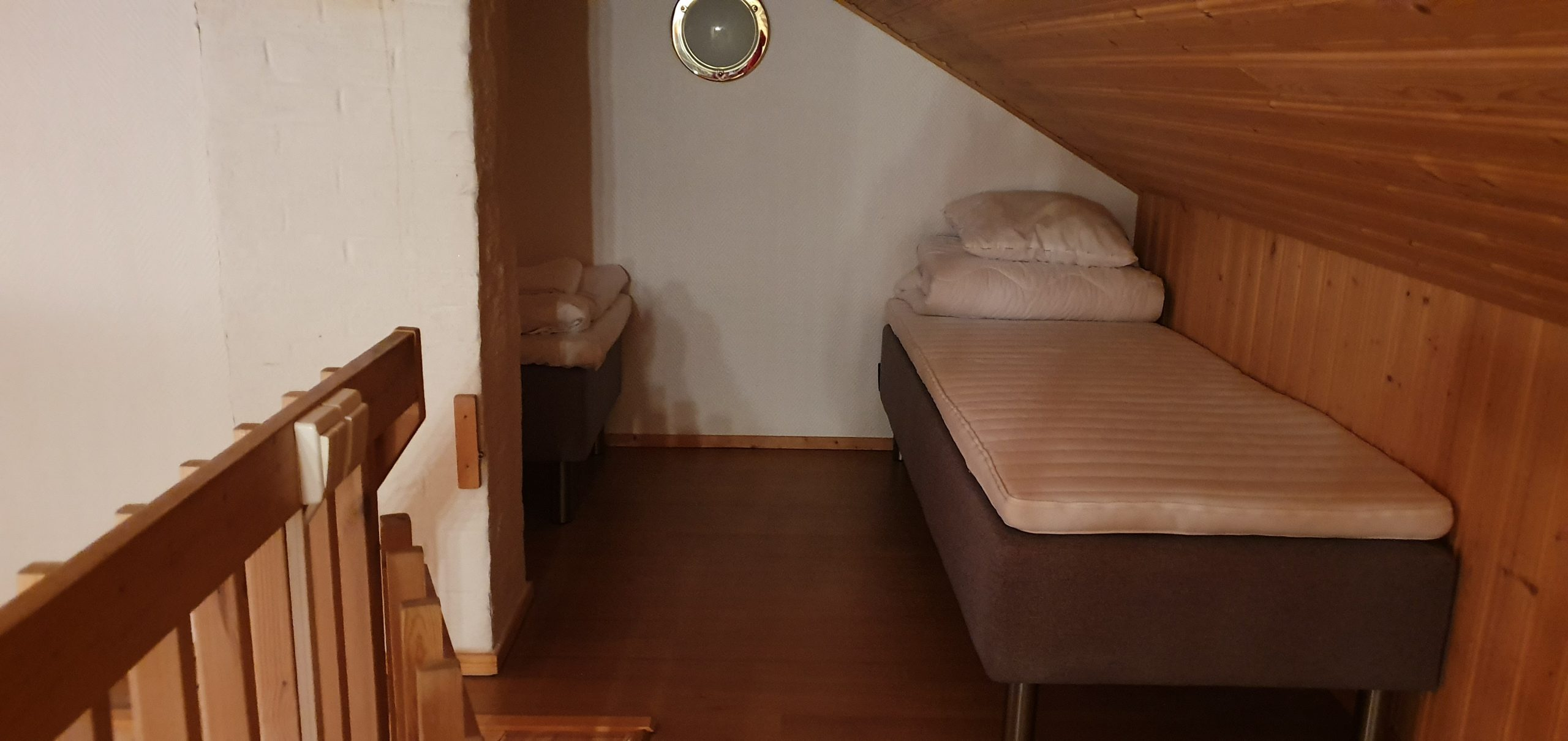 Kuutti Chalet's Second Floor Beds