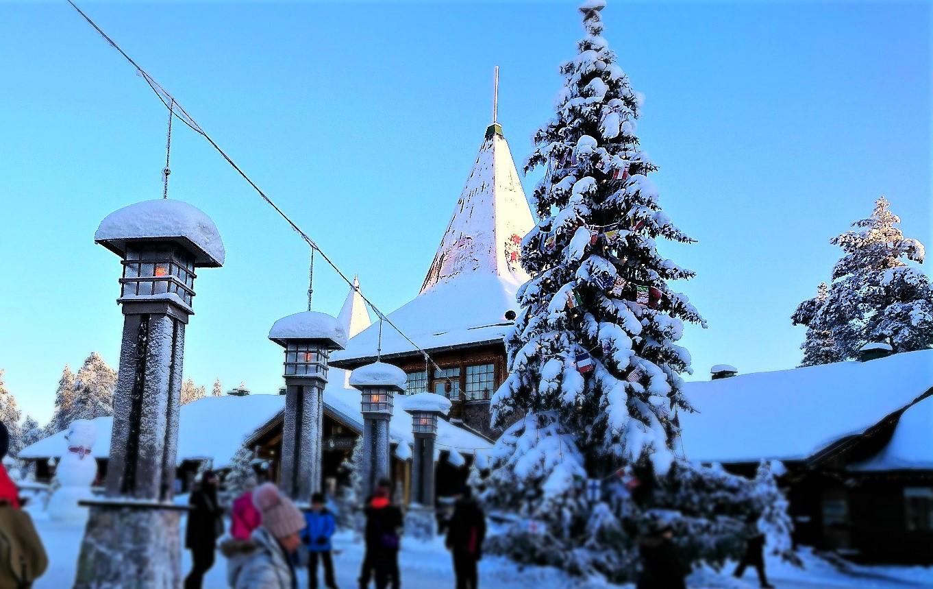 Ounasvaara Ski and Outdoor Resort is close to NortsaV Chalets